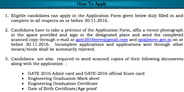 MRVC How to Apply