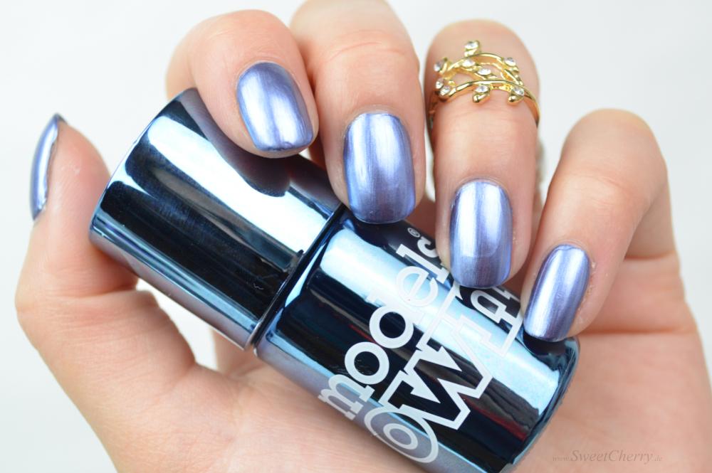 Models Own Colour Chrome Nail Polish - Chrome Indigo