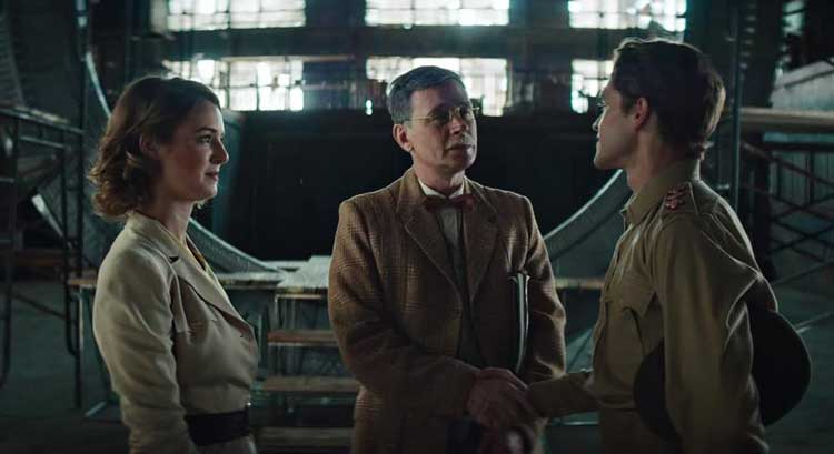 Ellie Gall and Connor Trineer star in Stargate Origins.