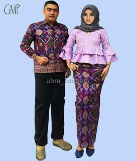 model baju batik atasan modern 2018