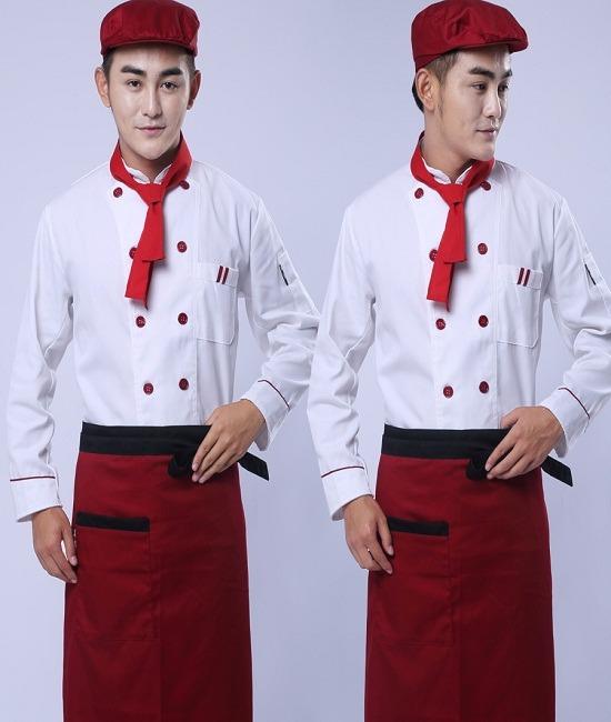 Đồng phục bếp hiện đại được ưa chuộng hiện nay