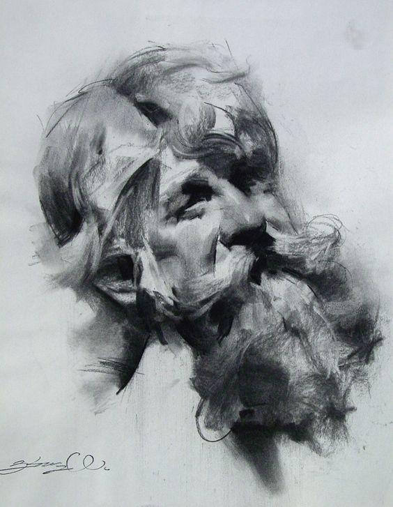 06-Zhaoming-Wu-Our-Essence-Captured-in-Charcoal-Portrait-Drawings-www-designstack-co