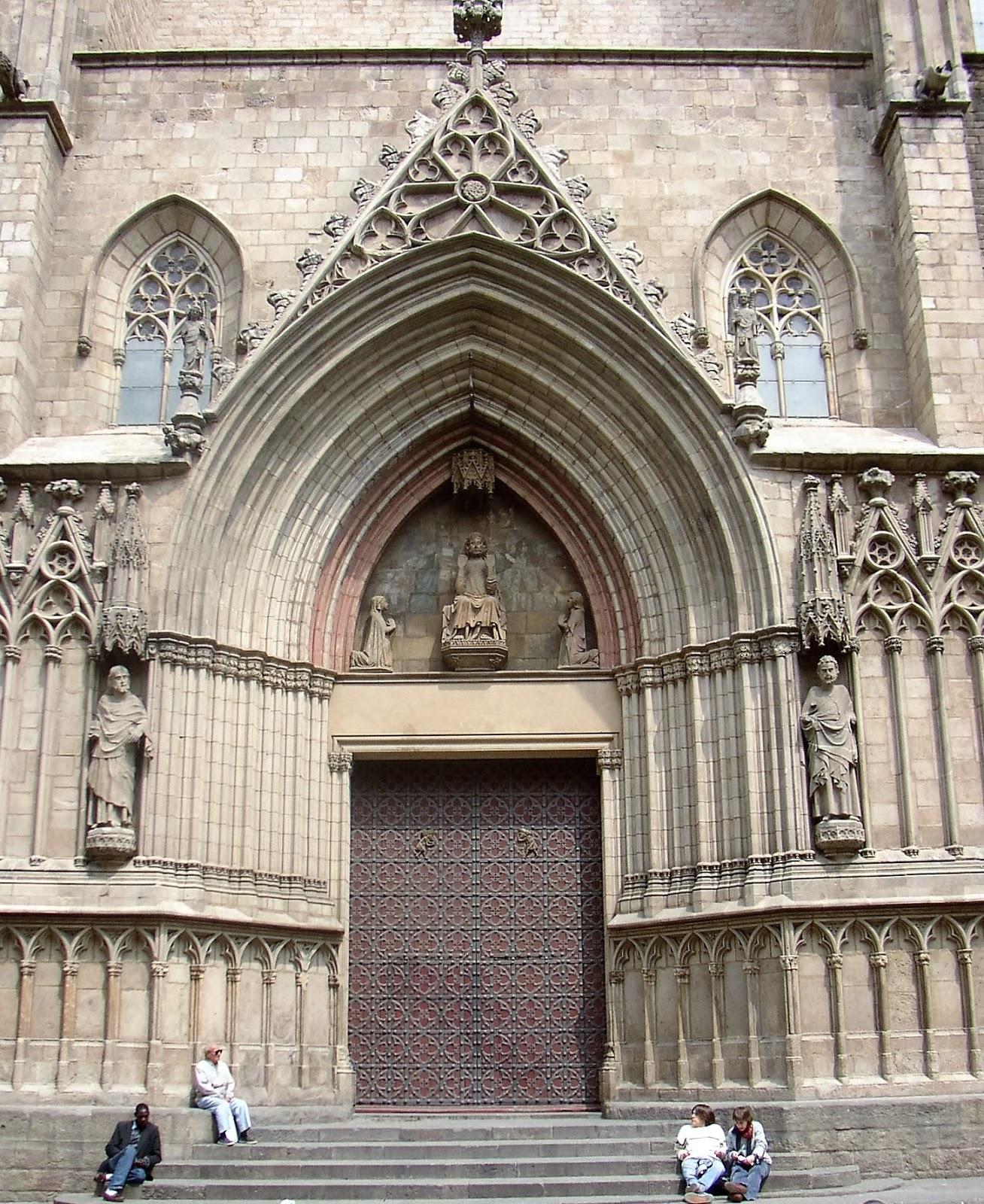Santa Maria del Mar basiliek Barcelona