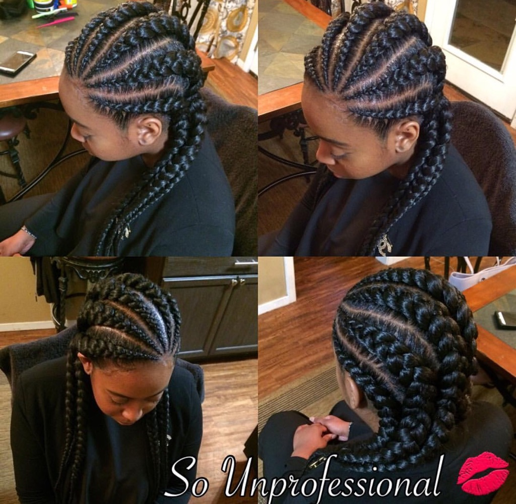 Feed In Braids By So Unprofessional