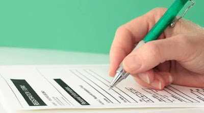 How to arrange your first name, middle name and last name when filling out a form