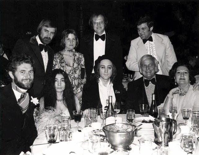John Lennon And Yoko Ono Attend The 1975 Grammy S
