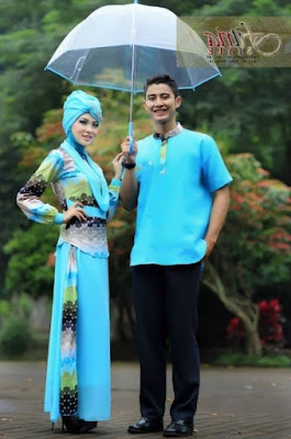 Model Baju Pesta Muslim Couple modis