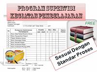 Contoh Format Program Supervisi Kegiatan Pembelajaran Lengkap