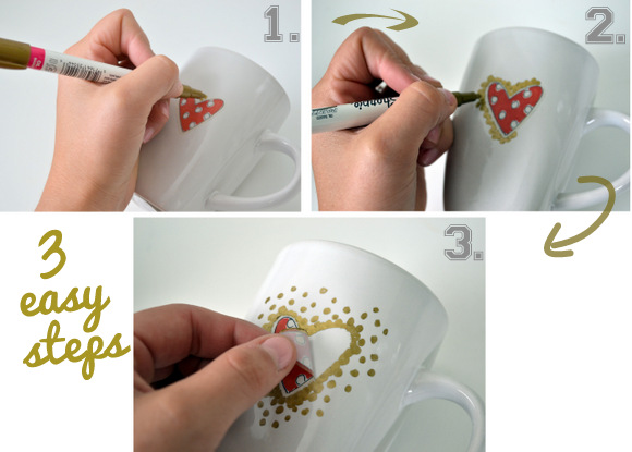 Personalized Mugs in 3 easy steps