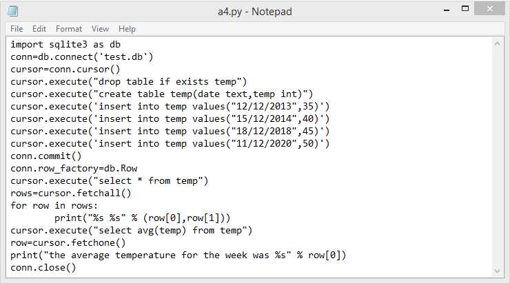 Good Engineers: Create table , insert value in table and