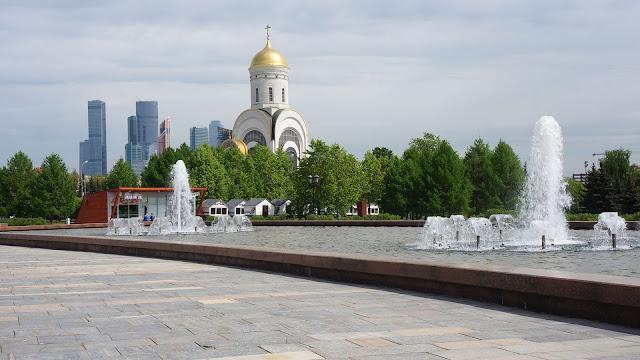 На фото - Храм Георгия Победоносца в Москве