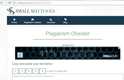 Cara Memeriksa Kemurnian Postingan Artikel Pada Blog