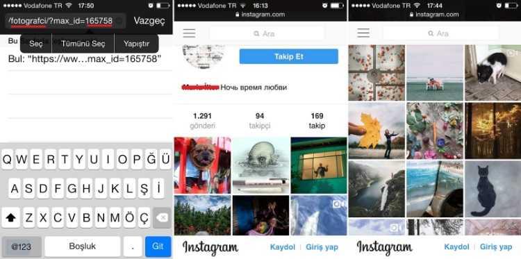 Bağlantı açıldığında kapalı ya da gizli olan Instagram profili de açılacaktır.