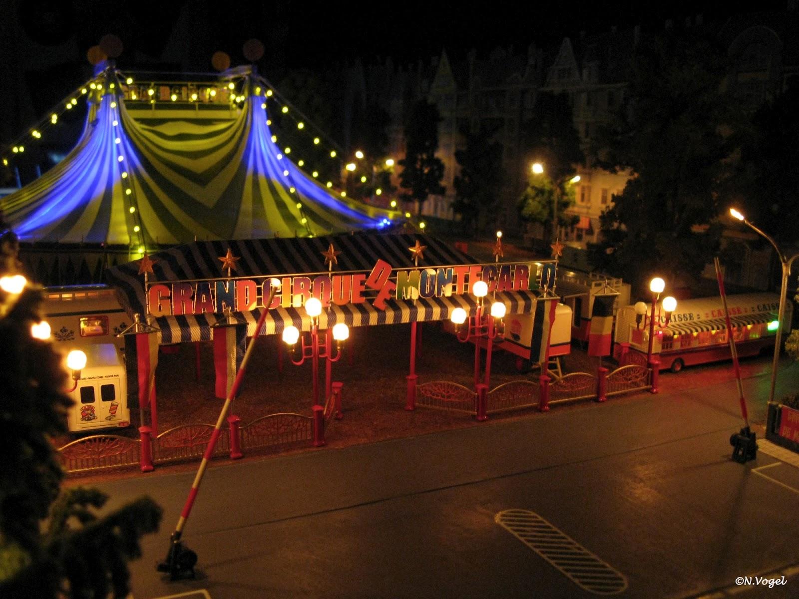 norberts internationale circuswelt grand cirque de monte carlo modelldiorama 1 87