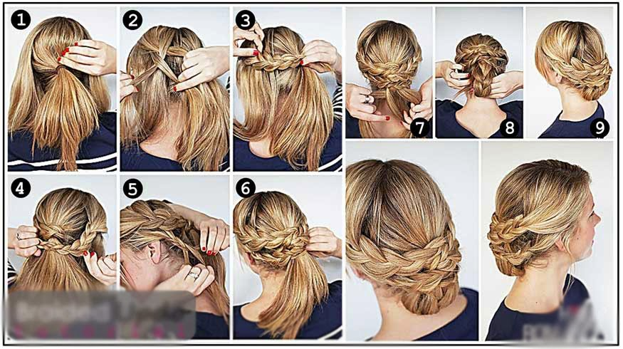 Tuto Absoluliss -- Coiffure pour assister à un mariage by