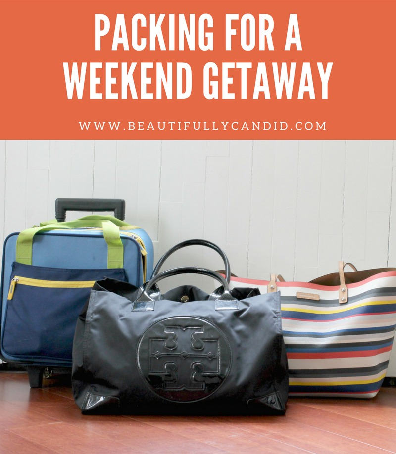 What to pack for a getaway