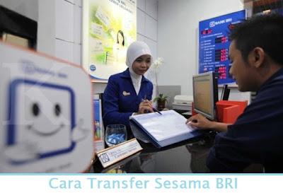 Cara Transfer Sesama BRI