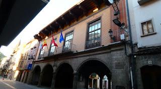 Casa Consistorial o Ayuntamiento de Sangüesa.