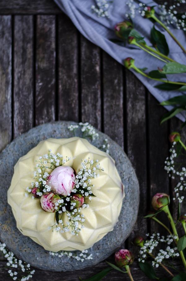 Cream Cheese Pound Cake mit perfekter Schokoladen Glasur