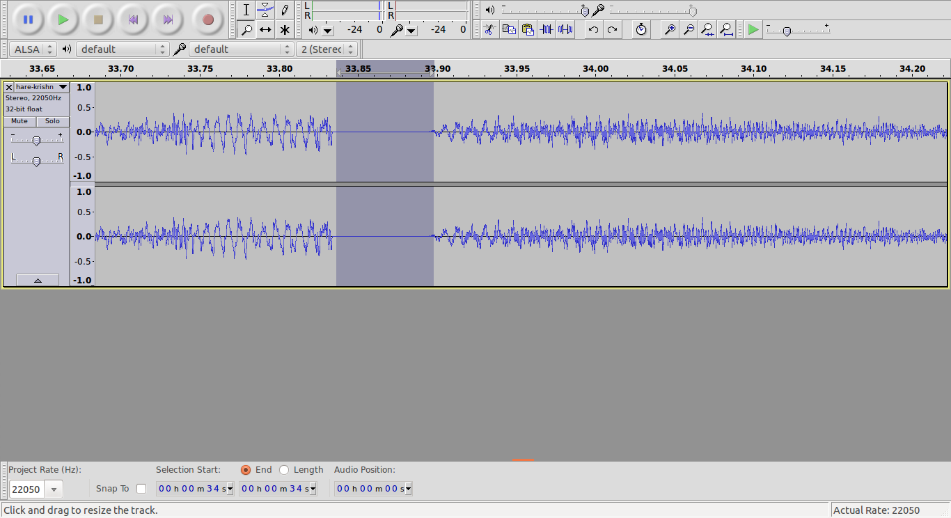 how to join audio tracks smoothly in audacity. Black Bedroom Furniture Sets. Home Design Ideas