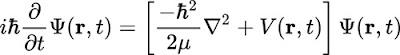 Equació de Schrödinger en macroescala astrofísica