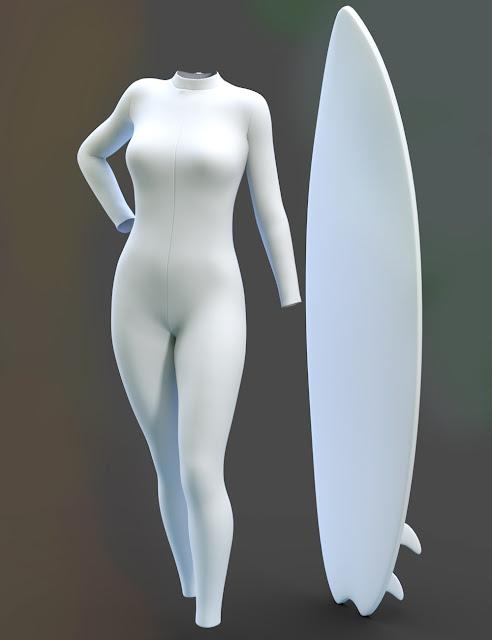 Wave Breakers for Genesis 3 Female