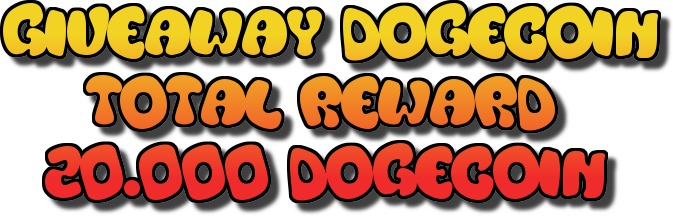 giveaway dogecoin for 100 people first - etaterangkanlah