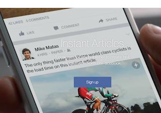 Cara Daftar Instant Articles Facebook
