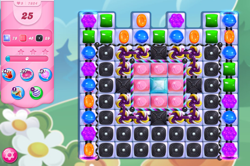 Candy Crush Saga level 7824