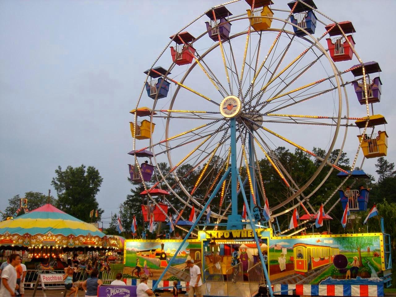 Shenandoah Shows knex carnival rides ™: ferris wheel variants