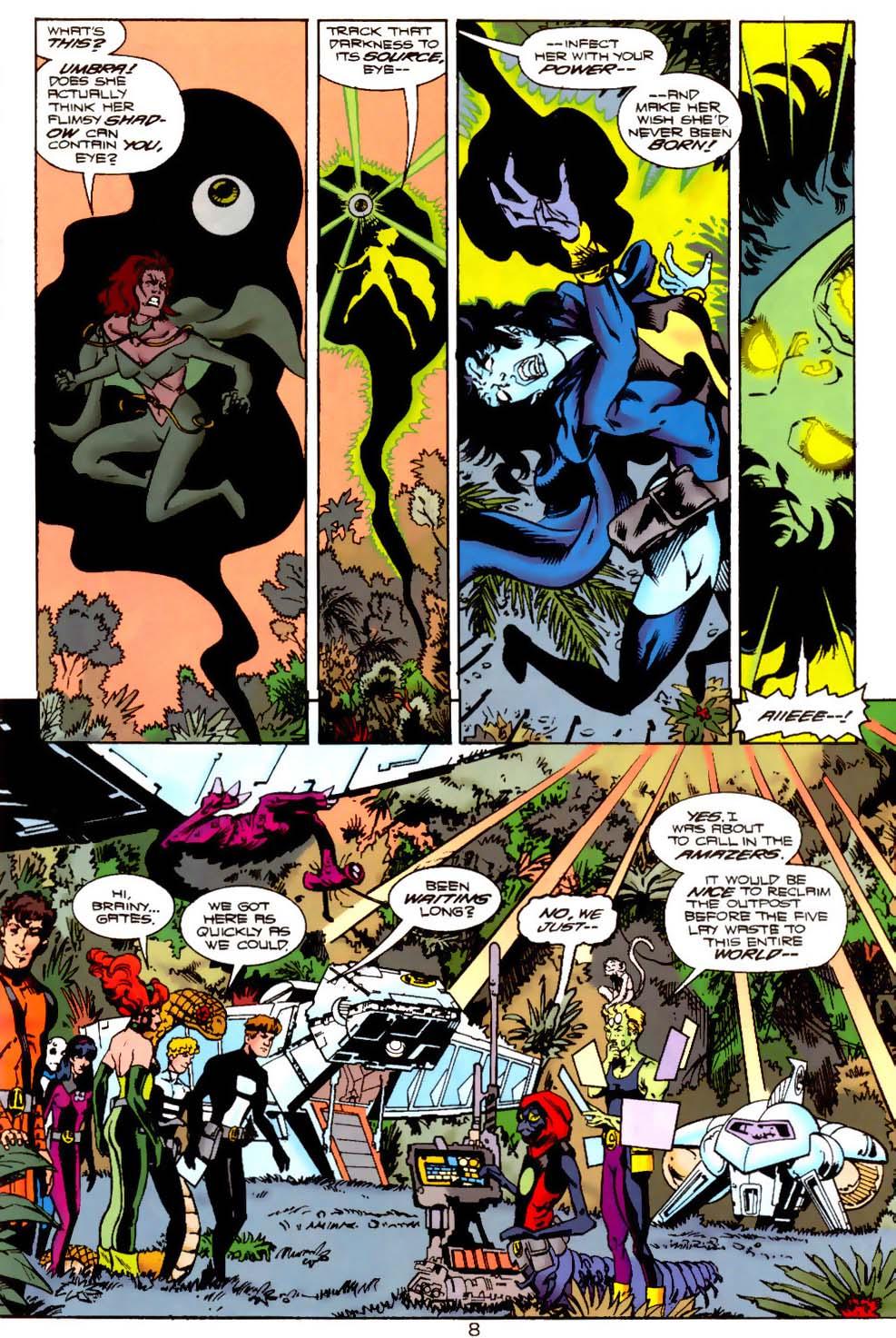 Legion of Super-Heroes (1989) 121 Page 7