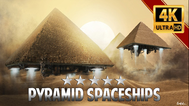 Pyramid Spaceships Wallpaper Engine