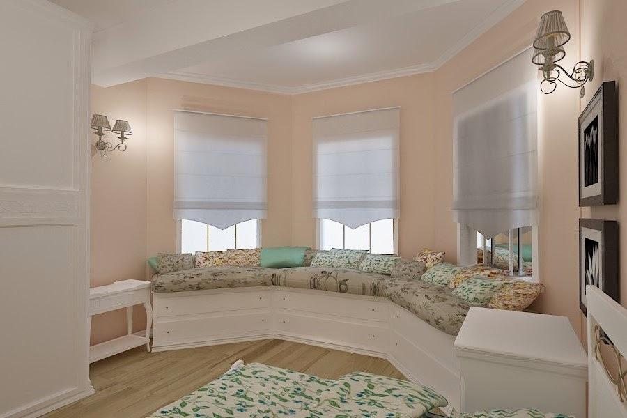 Design interior dormitor casa Constanta - Design Interior / Amenajari interioare | Design interior dormitor new classic