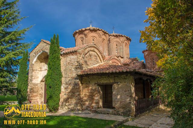 Monastery church - Veljusa Monastery near Strumica, Macedonia