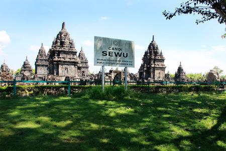 Candi Sewu, Candi Buddha di Jawa Tengah