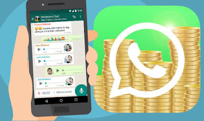 Request and pay money on WhatsApp
