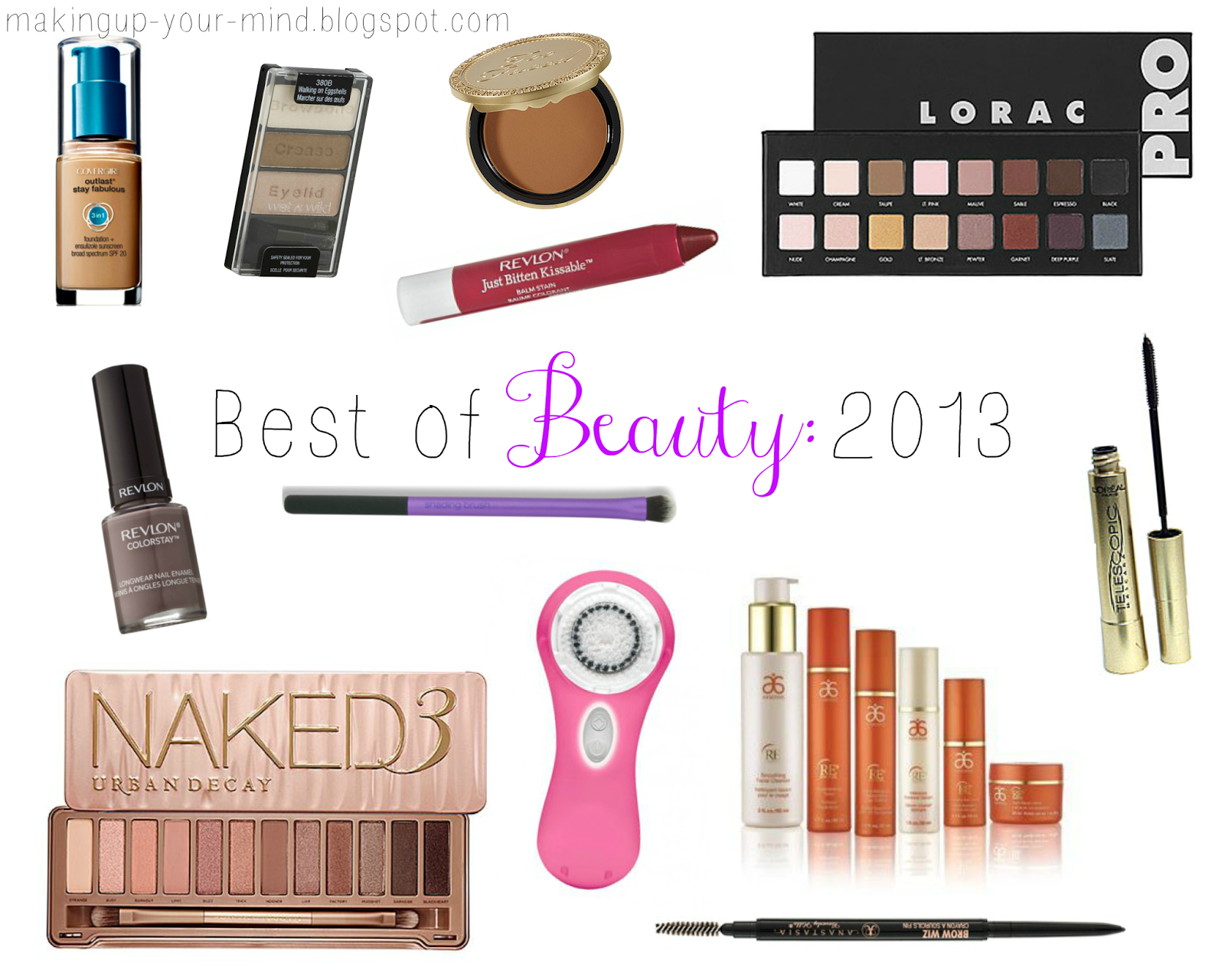 Makeup Your Mind's Best of Beauty 2013