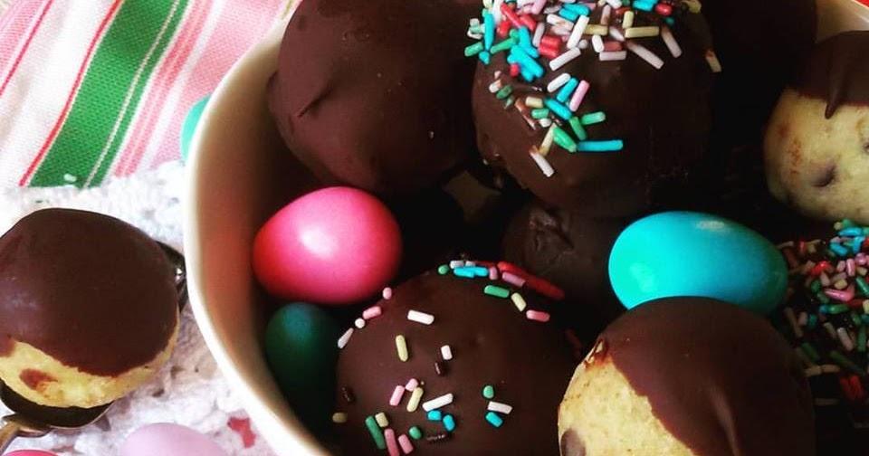 Allegri Bon Bon per Festeggiare e Riciclare ciambelloni o pan di spagna avanzati (Ricetta facilissima e senza cottura)