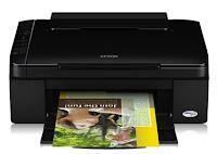 L'Epson Stylus SX110 est mince. Cette imprimante à jet d'encre couleur offre une sortie de haute qualité, des impressions aux numérisations et aux copies