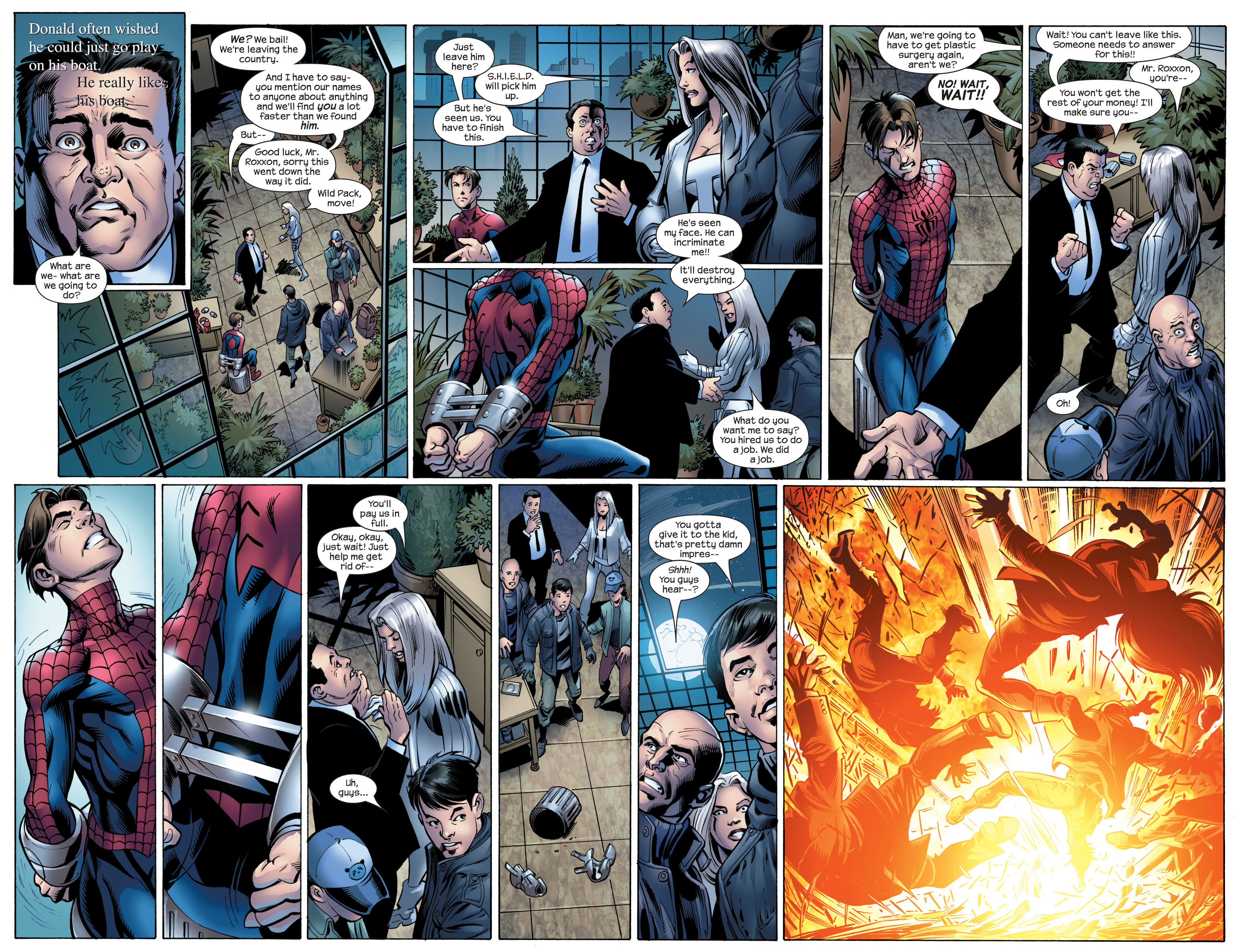 Read online Ultimate Spider-Man (2000) comic -  Issue #89 - 16