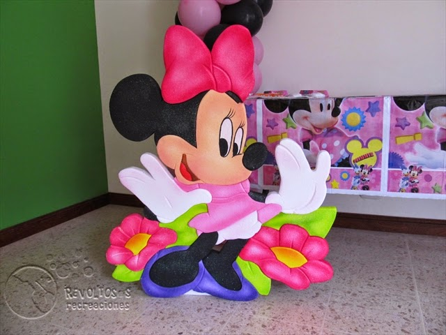 FIESTA TEMATICA MINNIE MOUSE ROSA