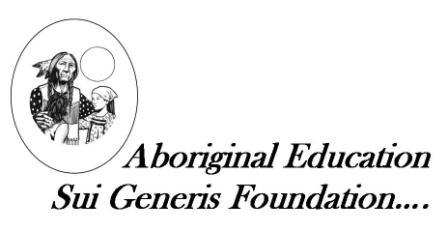 The Aboriginal Education Sui Generis Foundation