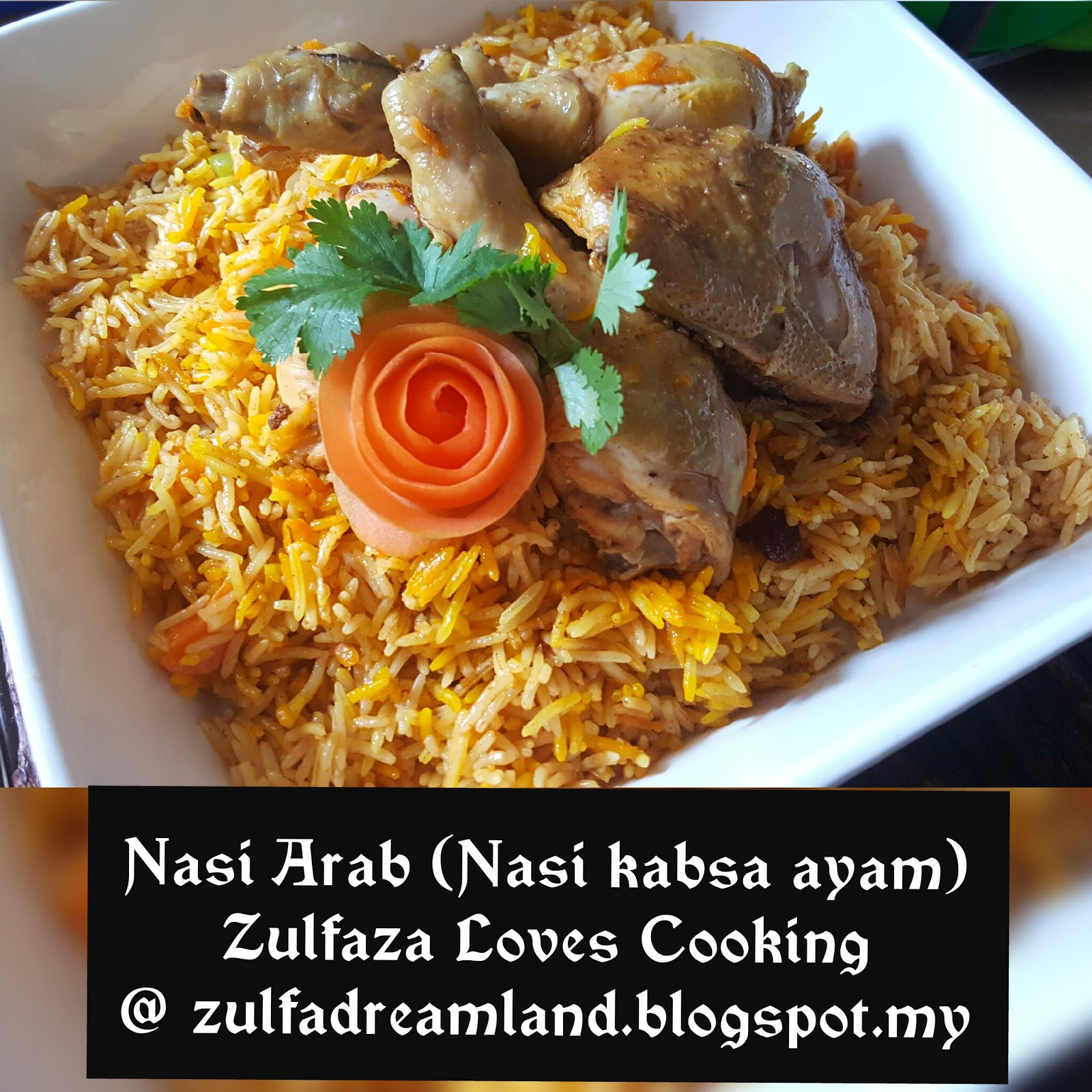 how to cook nasi arab