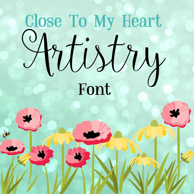 Cricut Artistry Font video