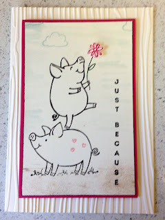 This little piggie stamp set zena kennedy independent stampin up demonstrator