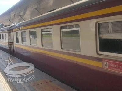 eksterior gerbong kereta api