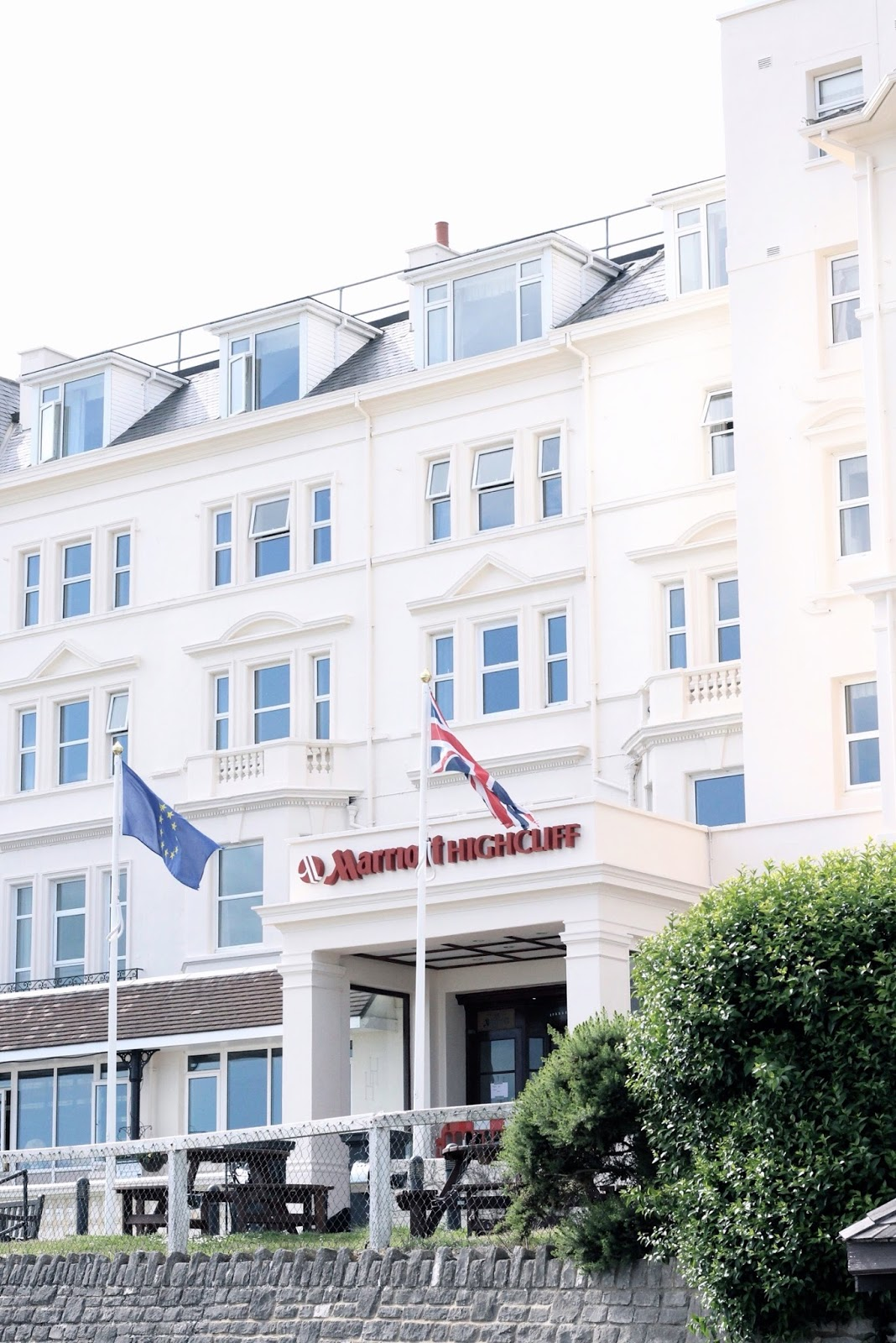 Marriott Highcliff Hotel in Bournemouth