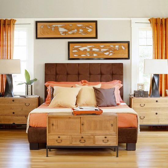 Home Decor Orange: Twirling Clare: Home Decor: Orange And Brown