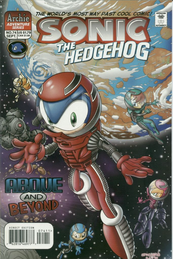 Read online Sonic The Hedgehog comic -  Issue #74 - 1