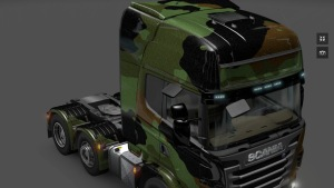 "Scania ""Camu"" Camouflage Skin"